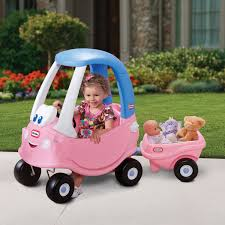 100 Little Tikes Princess Cozy Truck Coupe Trailer Toy At Mighty Ape NZ