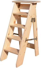 Wooden Ladder Chair Stool Library 4 4 4 5 6layers Solid Wood ...