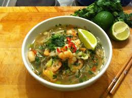 pho cuisine prawn pho food
