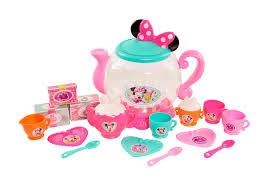Disney Jr Bathroom Sets by Disney Junior Minnie Bowtastic Teapot Set Toys