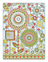 Flower Designs Coloring Project Awesome Book Design