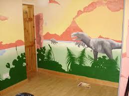Kids Dino Room T Rex Mural