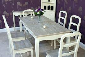 Shabby Chic Dining Room Table by Shabby Chic Dining Table And Chairs Enchanting Decoration Alluring