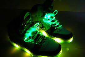 neon light up shoe laces flash light roller shoes light