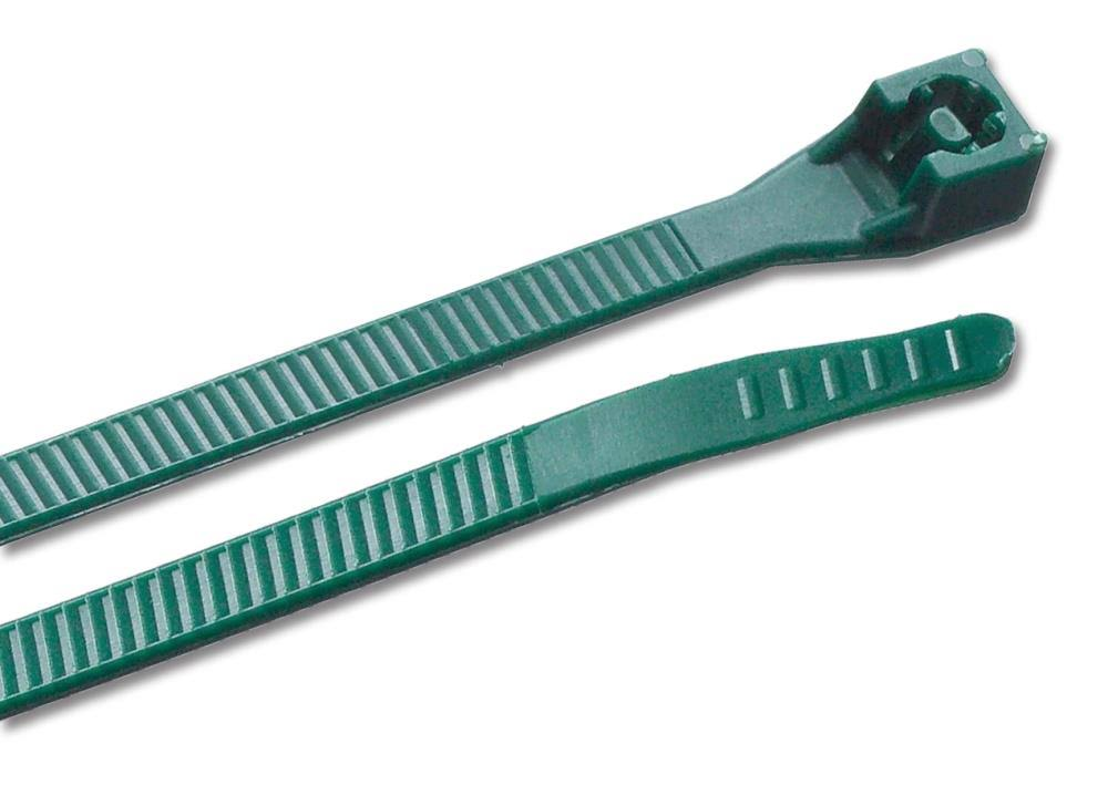 "Gardner Bender Nylon Cable Tie - 8"", Green"
