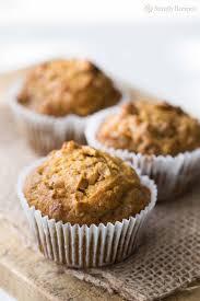 Cake Mix And Pumpkin Muffin Recipe by Pumpkin Ginger Nut Muffins Recipe Simplyrecipes Com