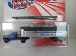 100 Mclean Trucking Classic Metal Works HO Scale 4146 Chevy Tractor Covered Wagon