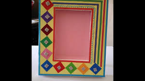 HOW TO MAKE HANDMADE PHOTO FRAME