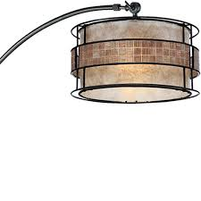 Curved Floor Lamp Copper by Arc Floor Lamps From Easy Lighting