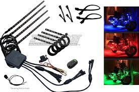 Harley Davidson Light Fixtures by Fusion Color Changing Motorcycle Led Accent Kits For Hds