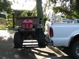 How Do You Carry Your ATV? [Archive] - HuntingBC.ca Diy Atv Lawnmwer Loading Ramps Youtube The Best Pickup Truck Ramp Ever Madramps And Utv Transport Made Easy Four Wheeler Ramps For Lifted Trucks Truck Pictures Quad Load Hauling The 4 Wheeler In Bed Polaris Forum 1956 Ford C500 Cab Auto Art Cool Pinterest Atvs More Safely With By Longrampscom Demstration Of Haulmaster Motorcycle Lift Ramp Loading A Made Easy Loadall V3 Short Sureweld Wheel Riser Front Wheels Ramp Champ