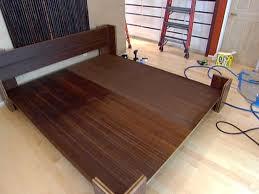 platform bed frame plans king plans diy free download how to build