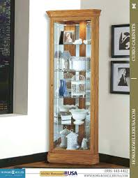 glass curio cabinets with lights home cabinets on cabinet home
