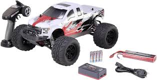 100 Electric Rc Monster Truck Reely NEW1 Brushless 110 RC Model Car Truck 4WD