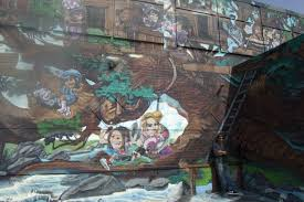 Big Ang Mural Petition by Kobie Solomon Finished His Most Ambitious Mural Yet Visual Art