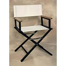 Aluminum Directors Chair With Swivel Desk by Folding Rocking Aluminum Chair