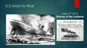 Where In Ireland Did The Lusitania Sink by World War 1 The Great War The Great War World War I The War To