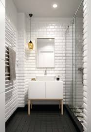 White Subway Tile Bathroom Wall — Themes Of Homes White Tile Bathroom Ideas Pinterest Tile Bathroom Tiles Our Best Subway Ideas Better Homes Gardens And Photos With Marble Grey Grey Subway Tiles Traditional For Small Bathrooms Accent In Shower Fresh Creative Decoration Light Grout Dark Gray Black Vanities Lovable Along All As