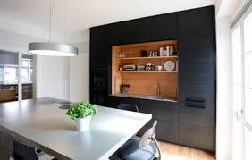 offene küche abtrennen mehr struktur durch lamellen