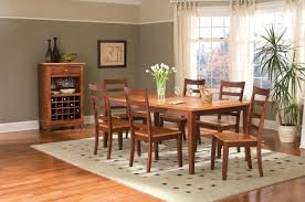 Havertys Rustic Dining Room Table by America Bristol Point Honey U0026 Chestnut Dining Collection