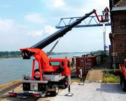 100 Truck Mounted Boom Lift Mounted Telescopic Boom Lift Compact Hydraulic P 300 KS Palfinger