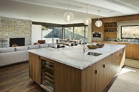 cuisine avec grand ilot central cuisine avec grand ilot central 10 maison bois et
