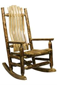 100 Unique Wooden Rocking Chair Wood Made In Montana Glacier Country Collection