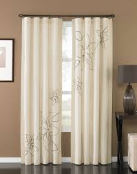 Gold And White Blackout Curtains by Decoration Ideas Nice Looking Window Treatment Design With Beige