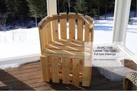 lobster trap chair woodchuckcanuck com