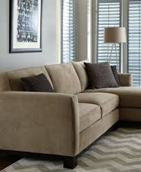 kenton fabric 2 piece chaise sectional apartment sofa furniture