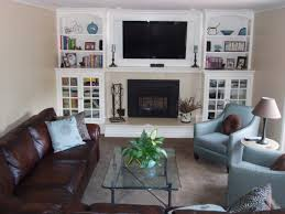 Enchanting Built In Cabinets For Family Room And Create An Accent Wall At The Trends Pictures