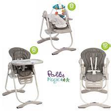 chaise haute évolutive chicco hypnotisant chaise haute polly magic chicco 3 en 1 anthracite