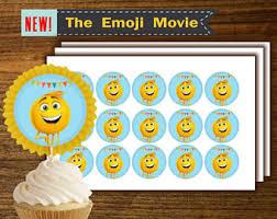 EMOJI MOVIE TOPPERS Emoji printable emoji digital paper emoji la pelicula emoji