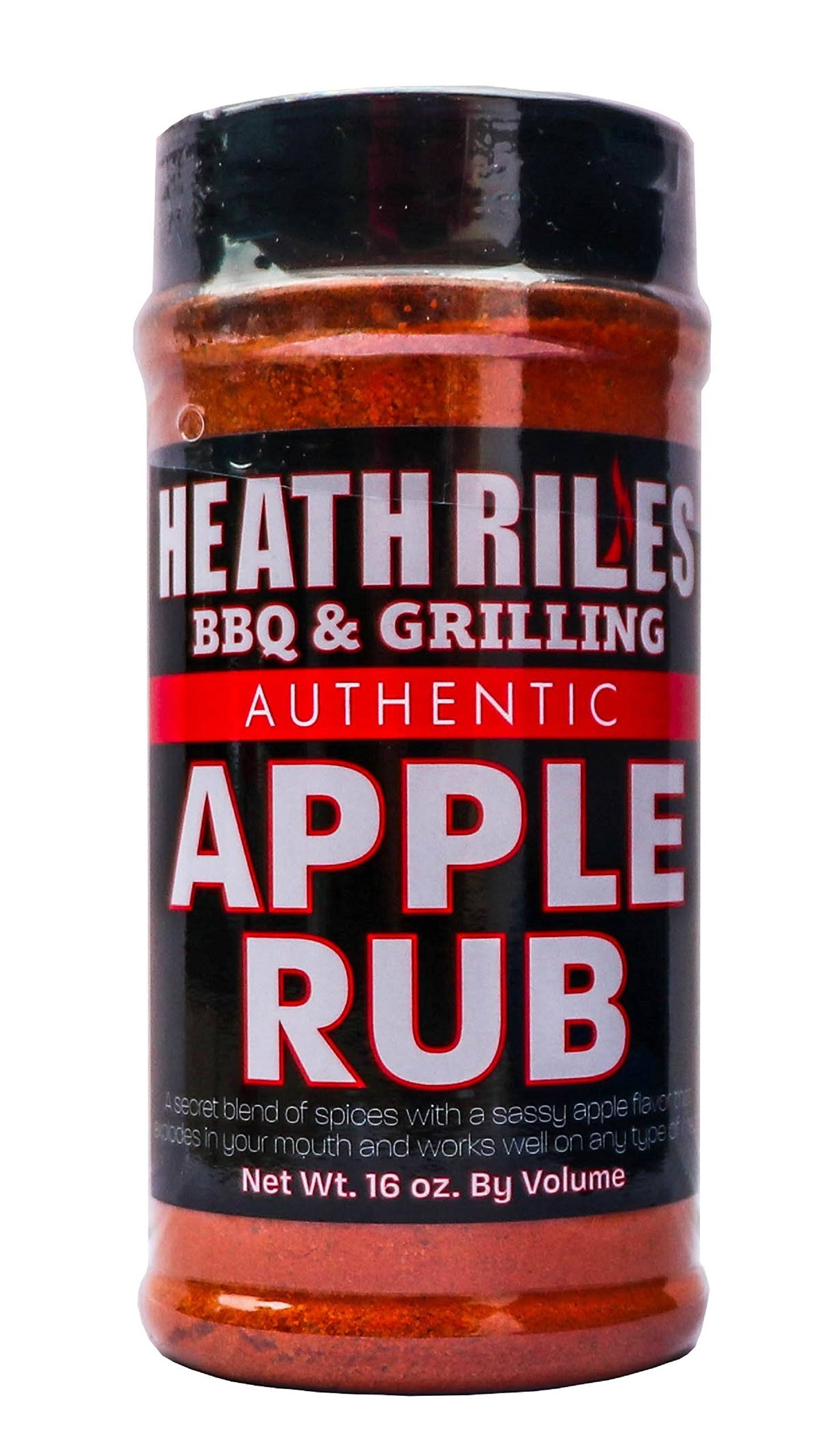 Heath Riles BBQ Apple Rub Apple