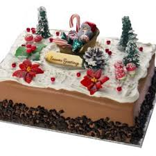 Christmas Chocolate Cake Decorations 04