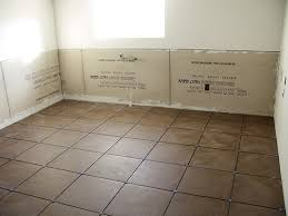 wonderful decor our bathroom floor of chocolatey brown tile with
