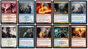 Mtg Red White Deck by Jeskai Tempo Delver Prowess
