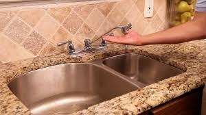 Delta Faucet Dripping Two Handle by How To Repair A Leaky Two Handle Faucet Youtube