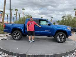 Congrats To Our 'Blue Tacoma' Truck Winner!