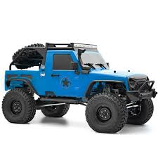 100 Rgt RGT EX86100 Pro 110 4WD Rock Cruiser EP Crawler Climbing RC Car Without Electronic Equipment Kit Blue