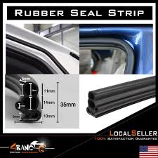 100 240 Truck Rubber Seal Car Door Edge Guard Molding Trim Lok RV Weather