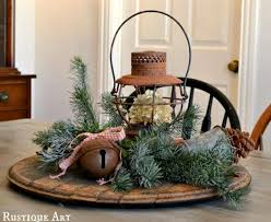 Country Home Christmas Decorating Ideas Rustic Style 14