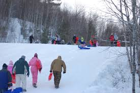 Christmas Tree Farm Near Lincoln Nh by White Mountains Adventure Concierge Sledding In Lincoln