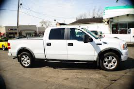 100 White Pick Up Truck 2008 Ford F150 4Dr Up