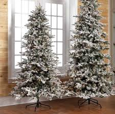 8ft Christmas Tree The Perfect Example Of A Flocked Pre Lit 2 28m 7 5ft Tall This