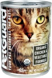 organic cat food petguard organic chicken vegetable formula canned cat food 12 7