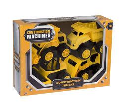 100 Kidds Trucks Construction Tractor Dump Truck Bulldozer Front Loader Kids Toy Gift