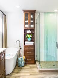 Narrow Bathroom Ideas With Tub by Bathroom Cabinets Narrow Glazed Display Glass Cabinet Narrow