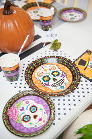 Day Of The Dead Halloween Party Vintage Halloween Colcblesdecorations For Sale Pottery Barn Host Your Party In Style Our Festive Dishes Inspiration From The Whimsical Lady At Home Snowbird Salad Plates Click On Link To See Spooky Owl Bottle Stopper Christmas Thanksgiving 2013 For Purr03 8 Ciroa Wiccan Lace Dinner Salad Plates