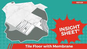 Durock Tile Membrane Canada by Membrane For Tile Floor Choice Image Home Flooring Design